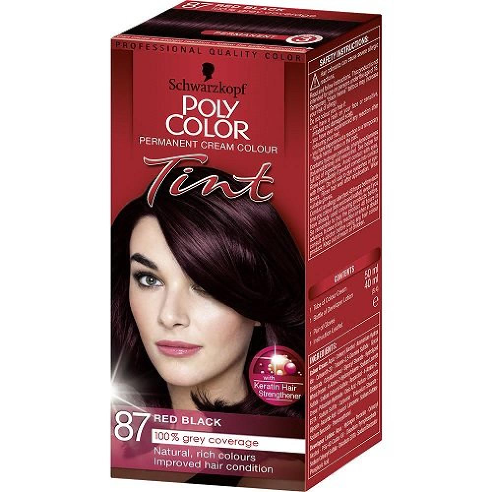 Schwarzkopf Poly Color Tint 87 Red Black