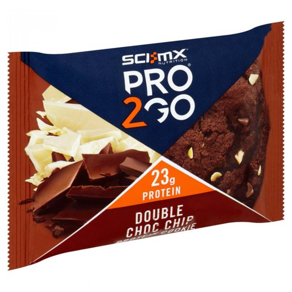 SCI MX Nutrition Double Chocolate Chip Pro2Go Cookie 75g