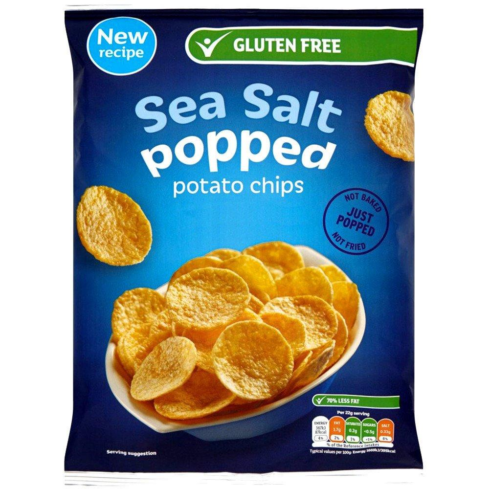 Perfectly Good  Perfectly Good Sea Salted Popped Potato Chips 88g