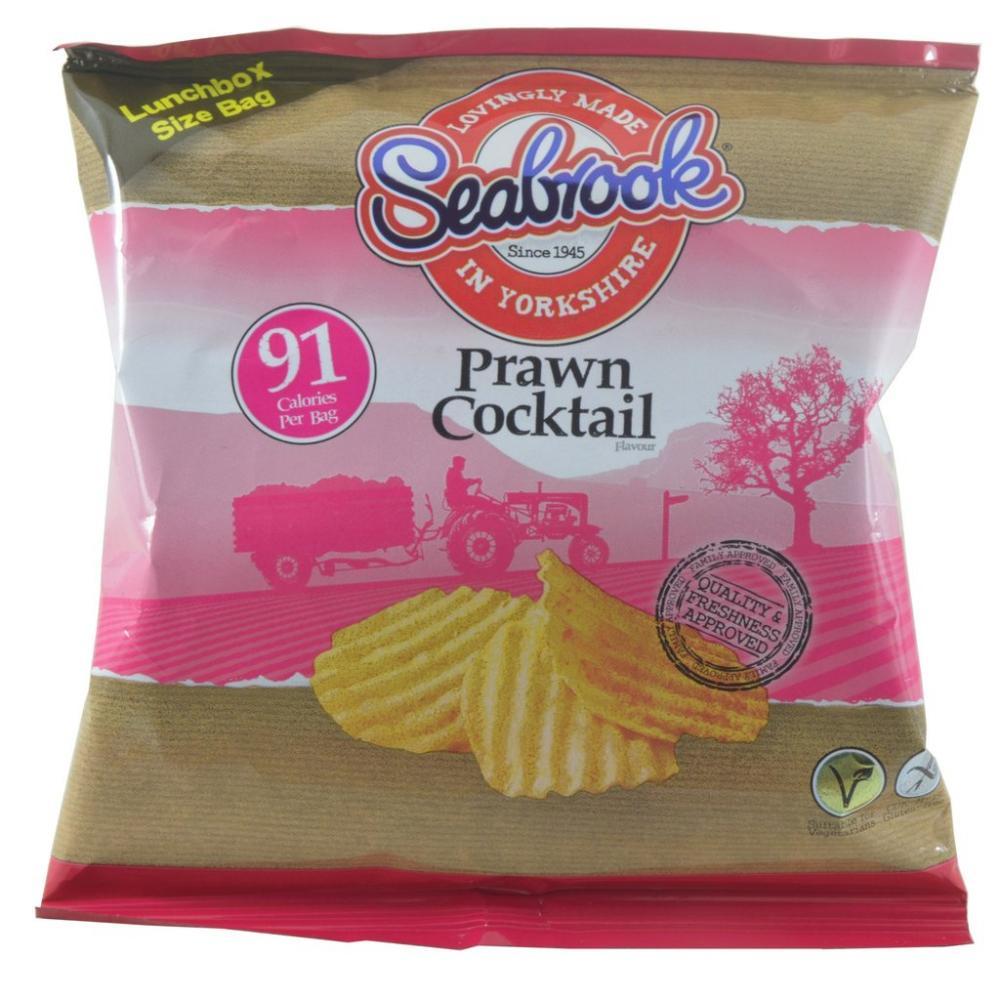 Seabrook Prawn Cocktail Flavour Crisps 18g