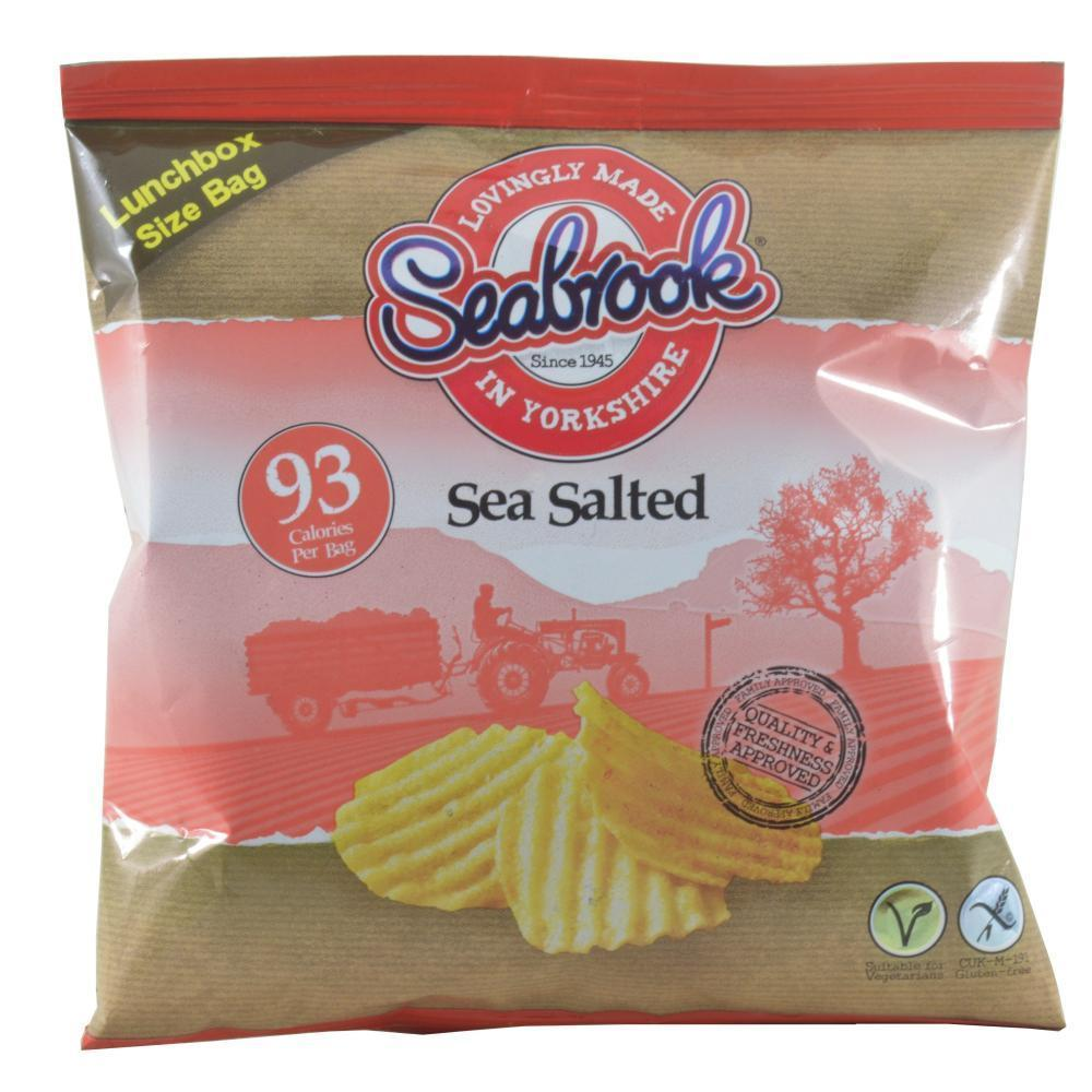 Seabrook Sea Salted Crisps 18g