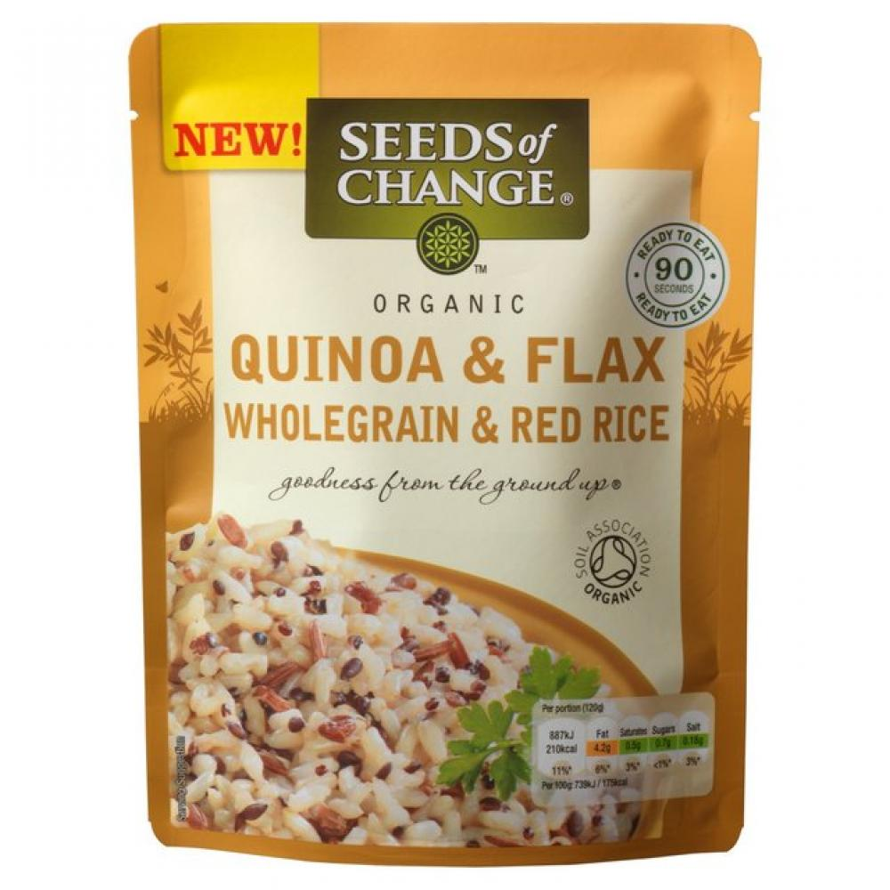 Seeds of Change Organic Flax Quinoa and Red Rice 240g