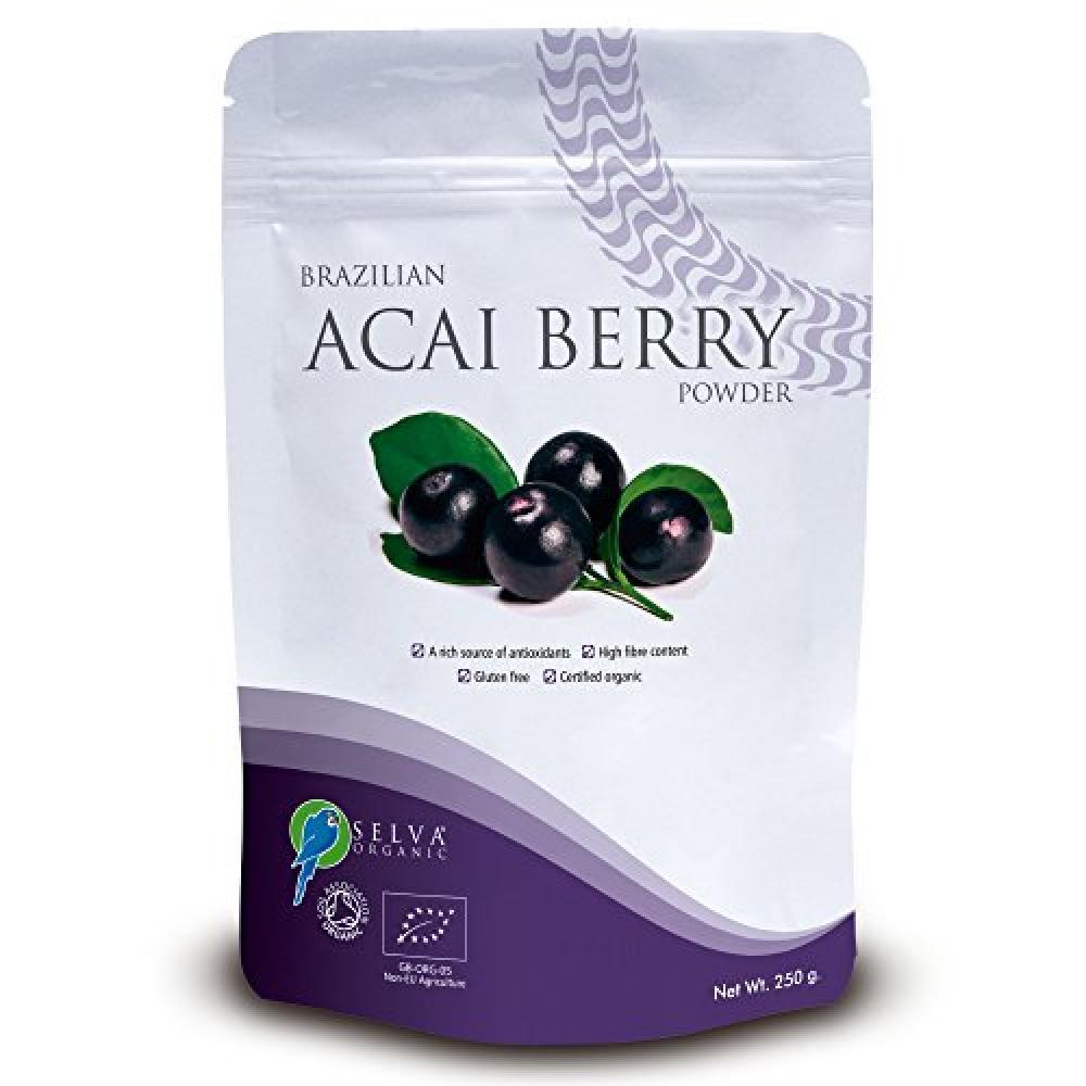 Selva Organic Acai Berry Powder 125 g