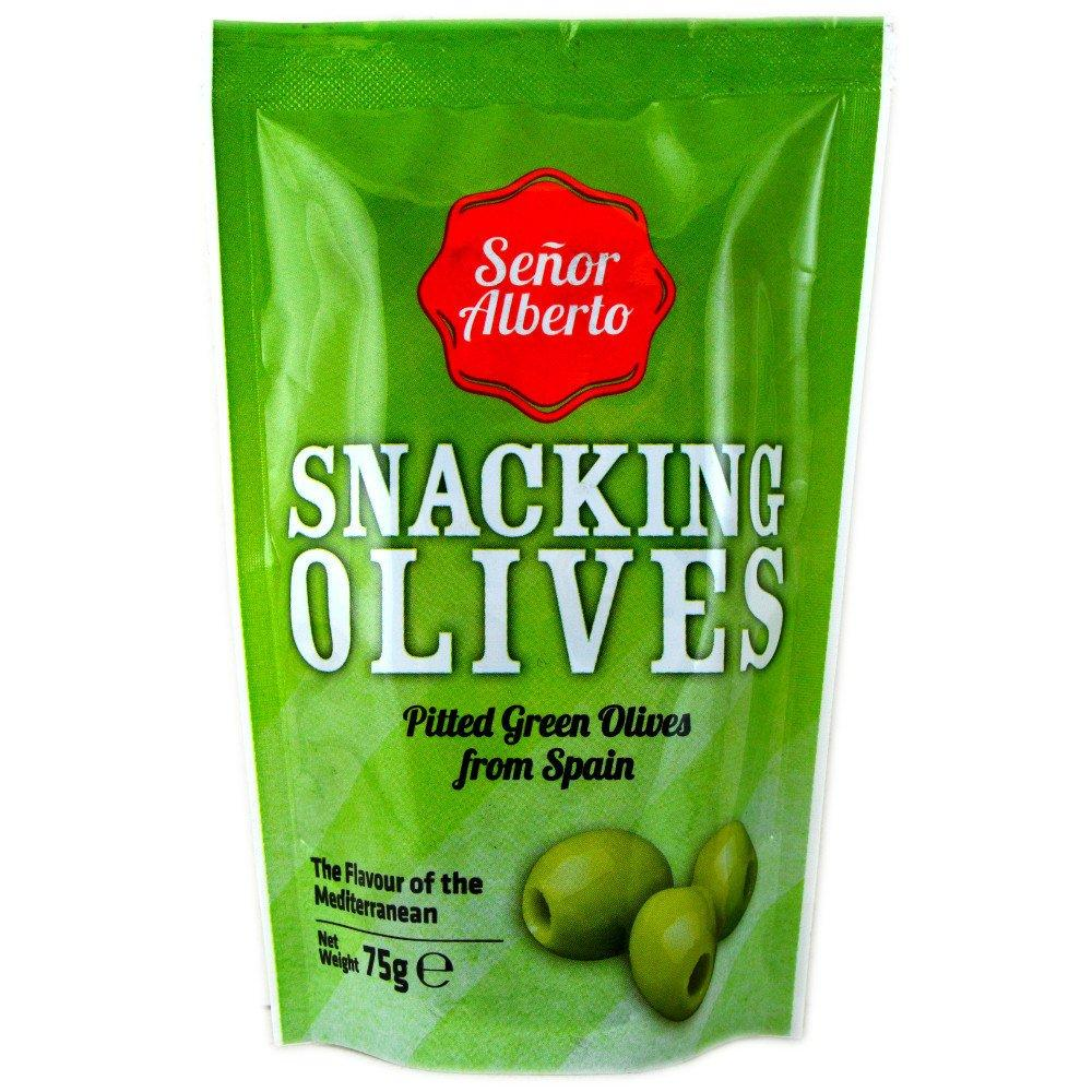 Senor Alberto Green Olives 90g 90g