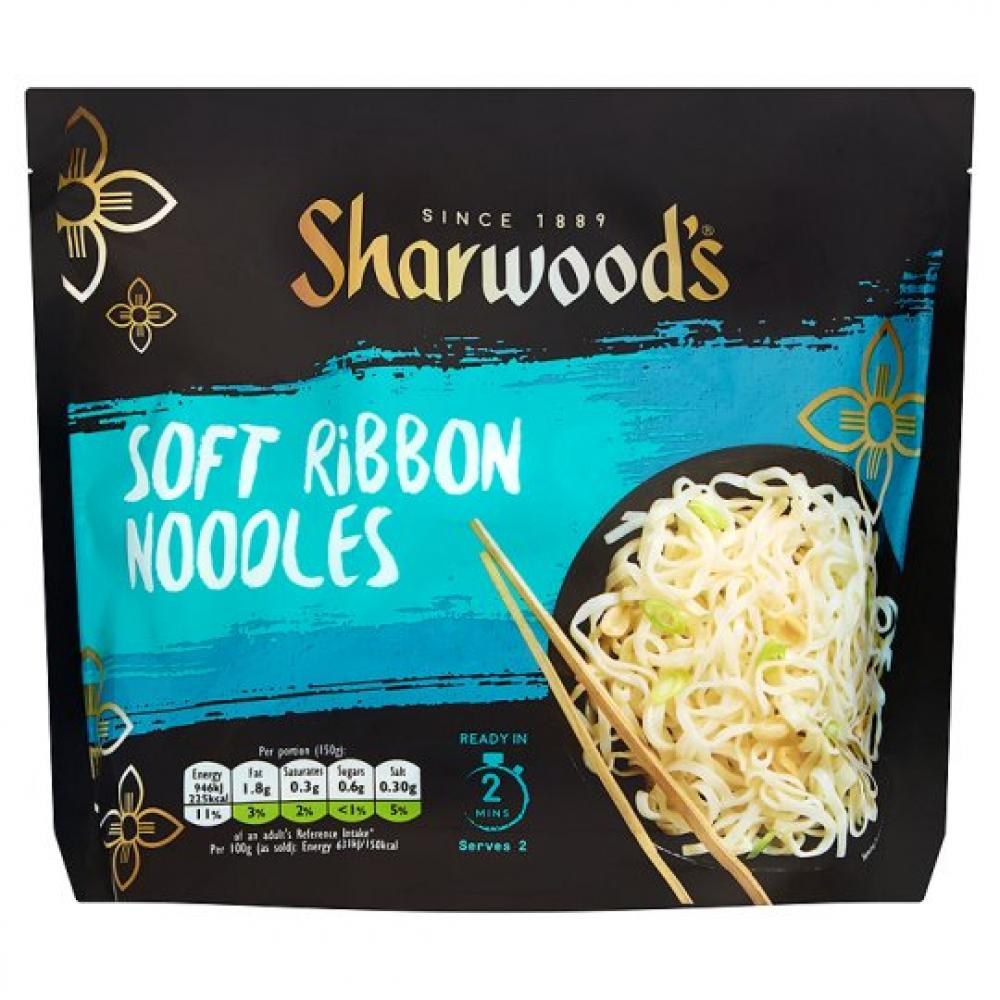 Sharwoods Soft Ribbon Noodles 300g