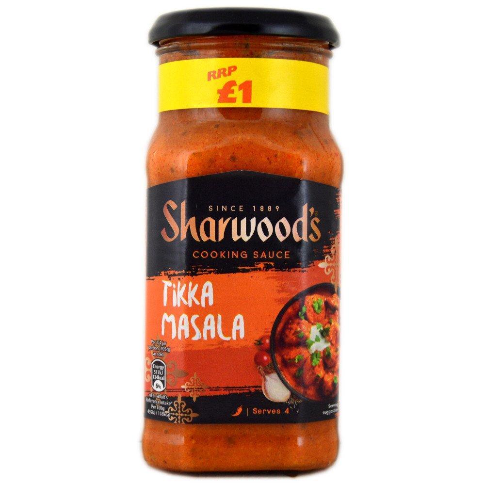 Sharwoods Tikka Masala Cooking Sauce 420g