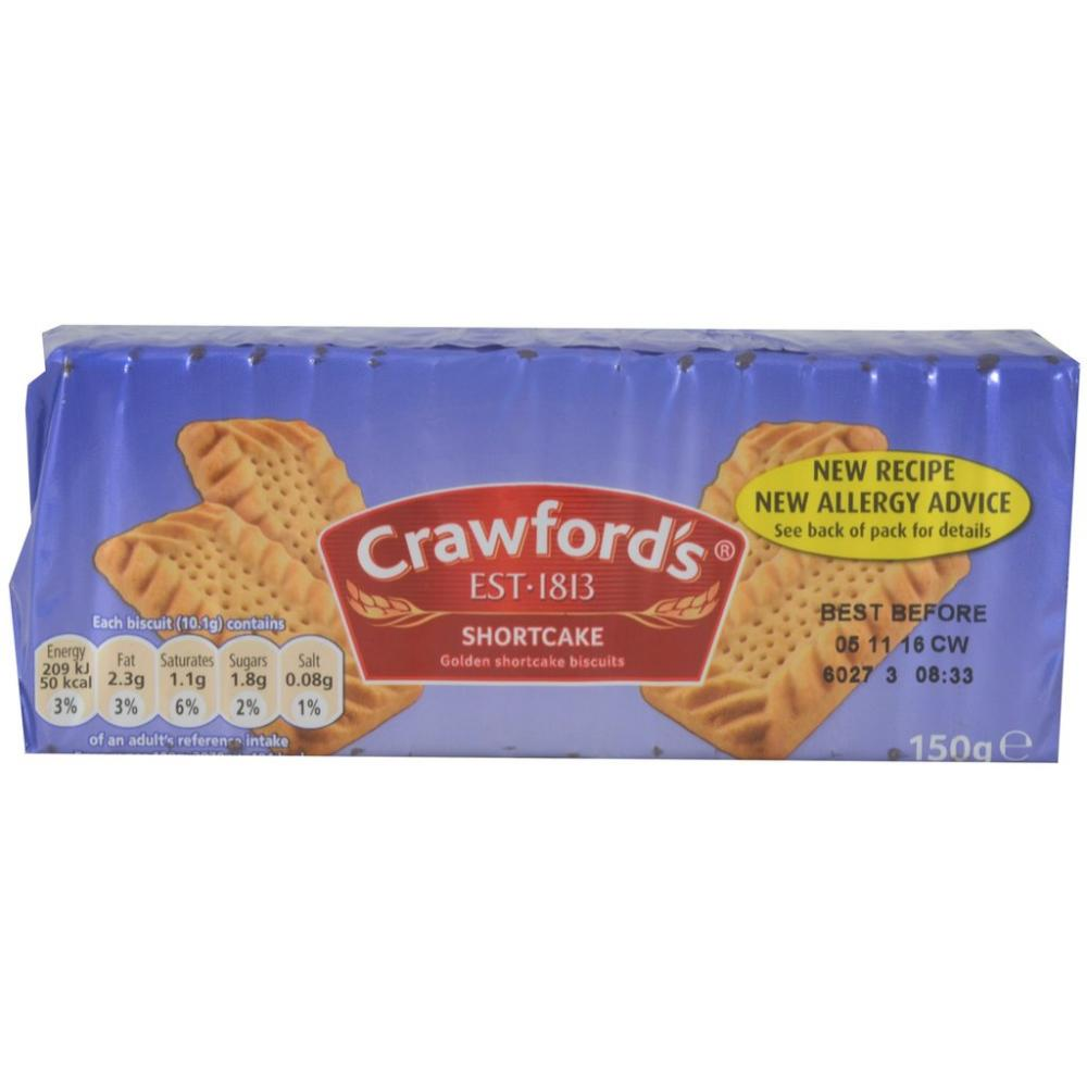 Crawfords Shortcake Biscuits 150g