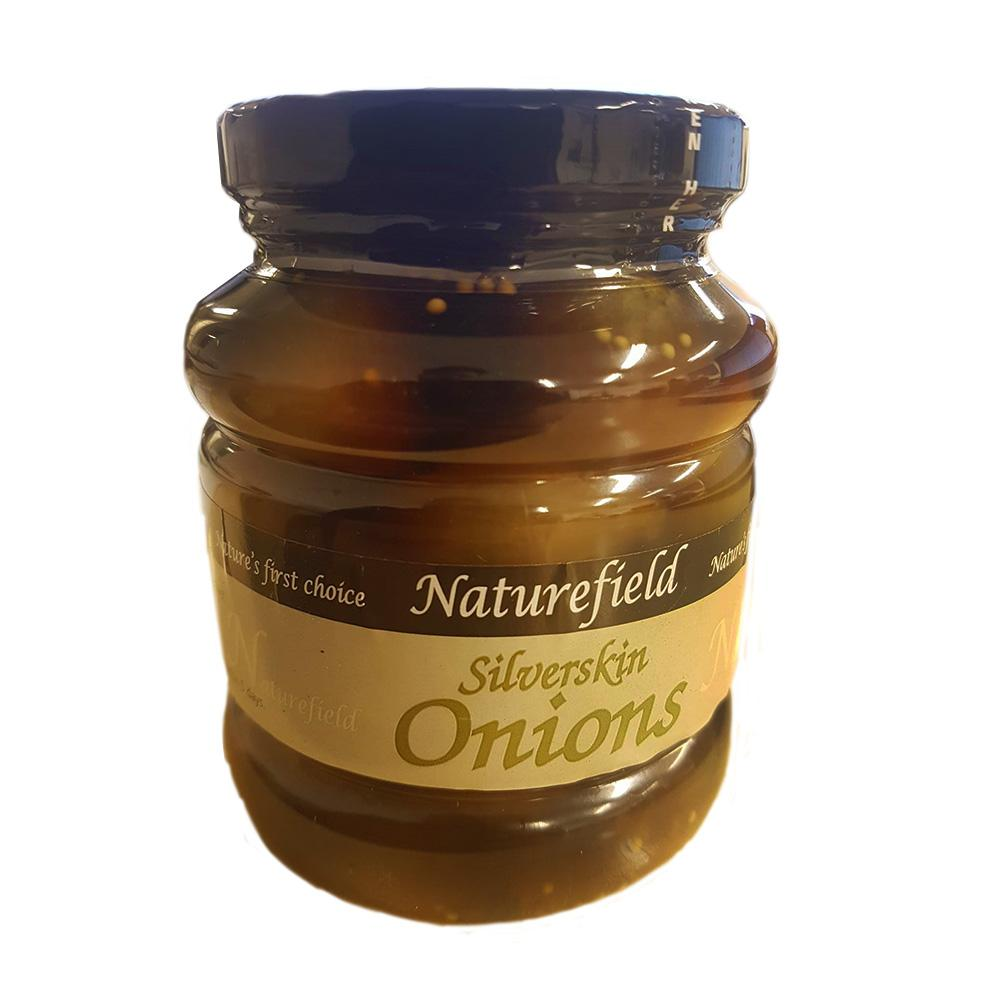 Naturefield Silverskin Onions 350g