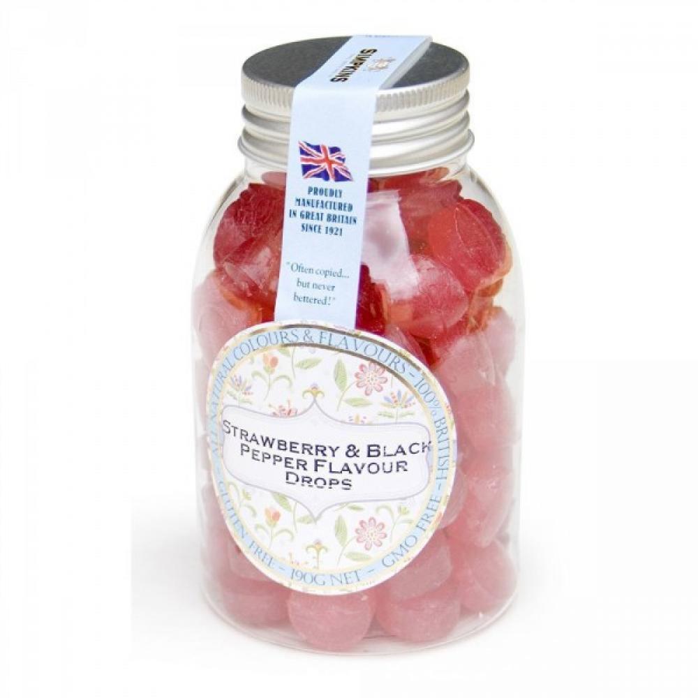 Simpkins Strawberry and Black Pepper 190g