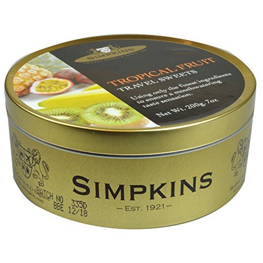 Simpkins Tropical Fruit Drops 200 g