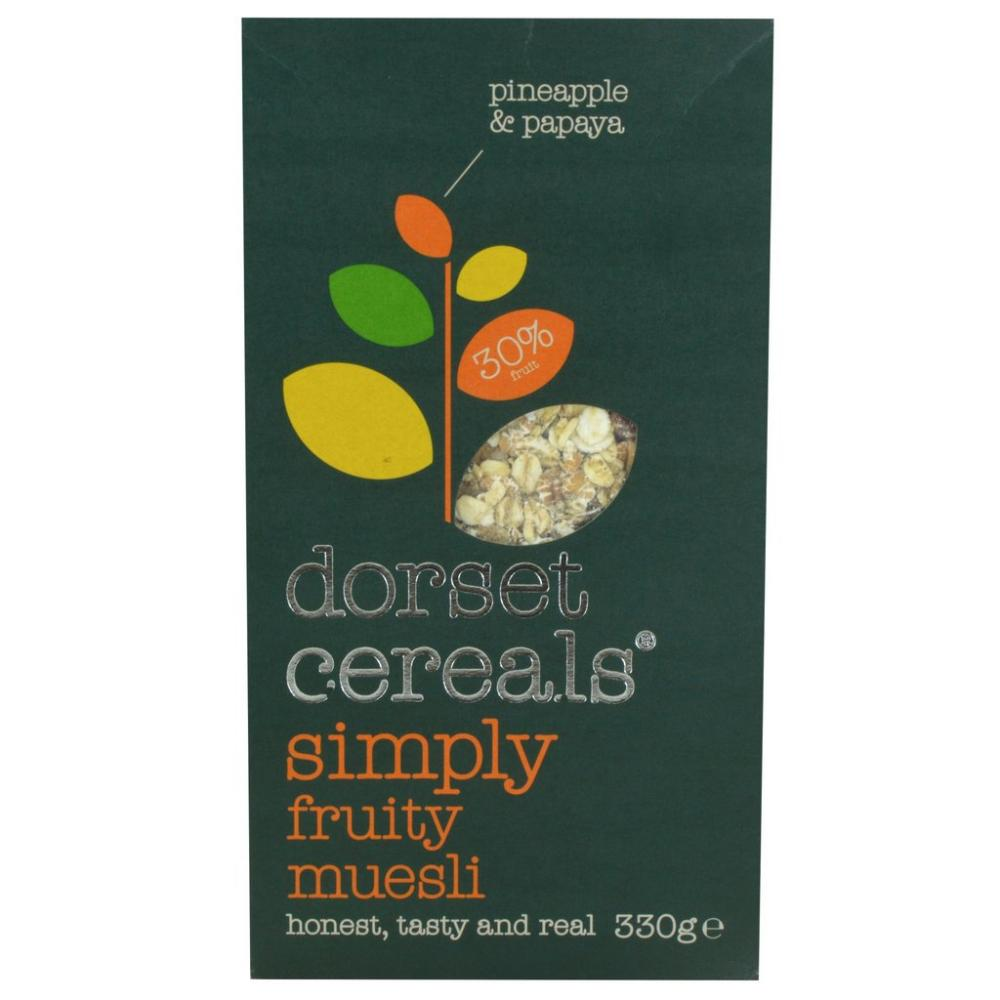 Dorset Cereals Simply Fruity Muesli 330g