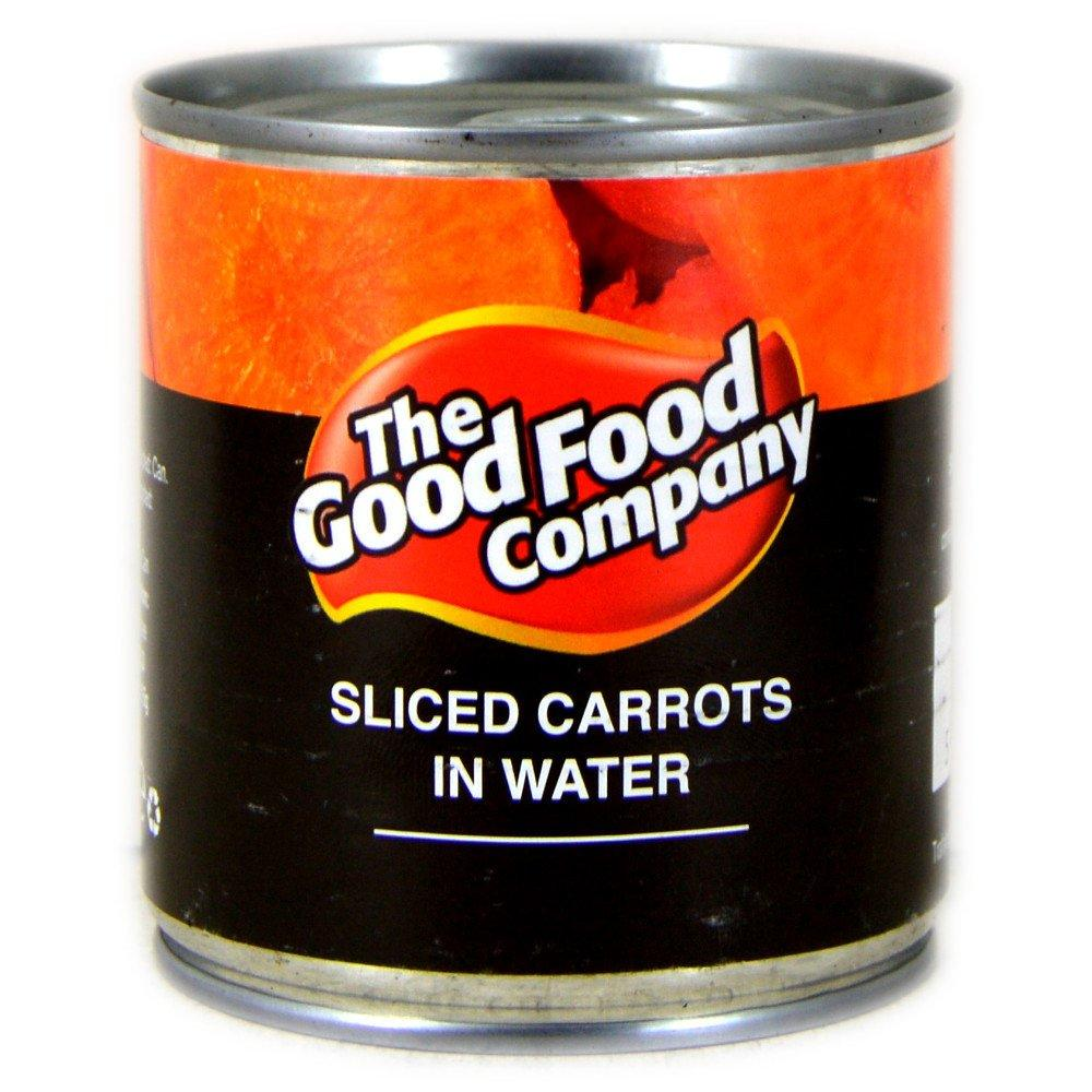 The Good Food Company Sliced Carrots in Water 200g