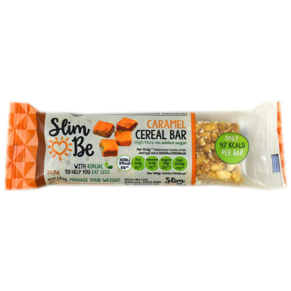 Slim Be Caramel Cereal Bar 31.5g