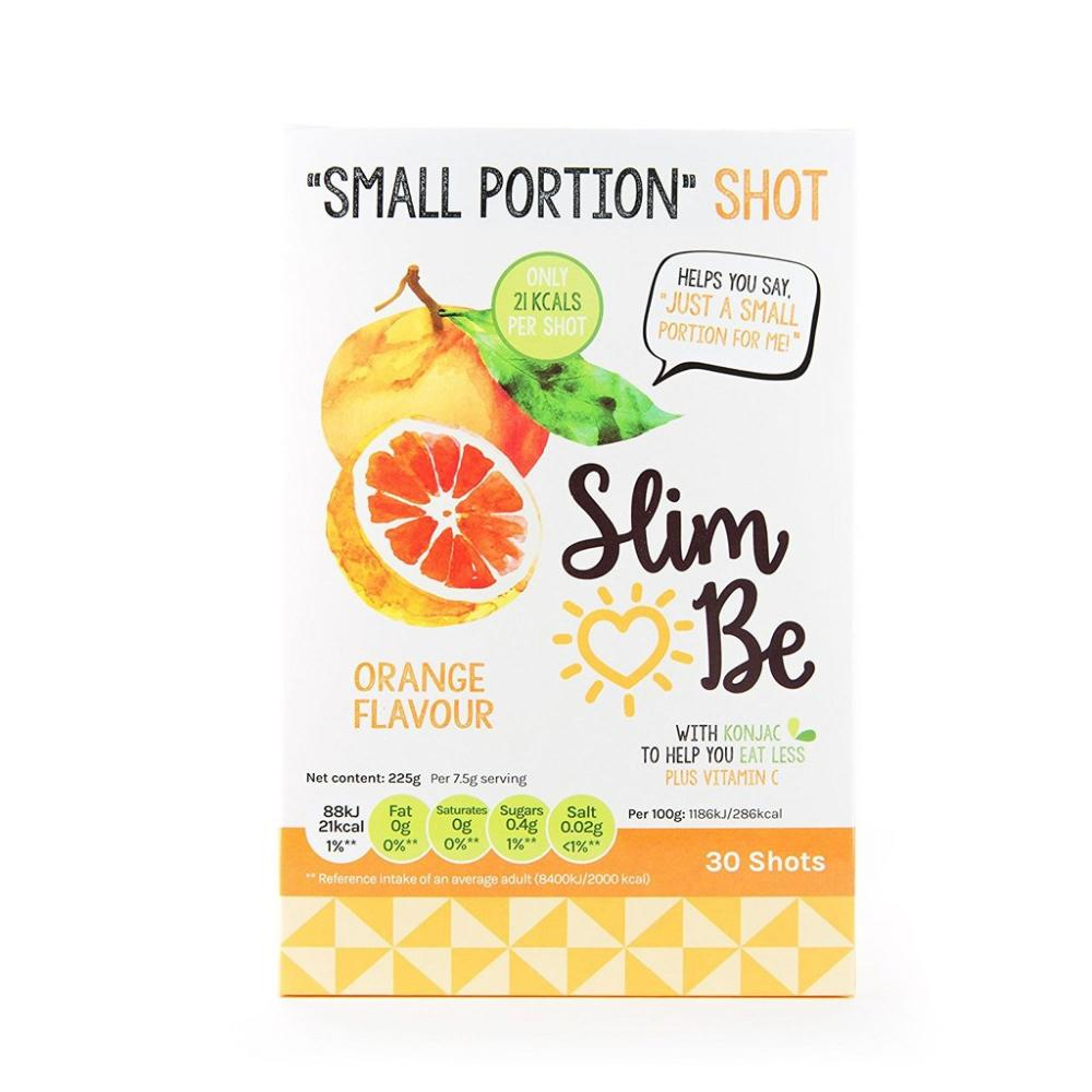 FURTHER REDUCTION  Slim Be Orange Flavour 7.5g x 30 Shots