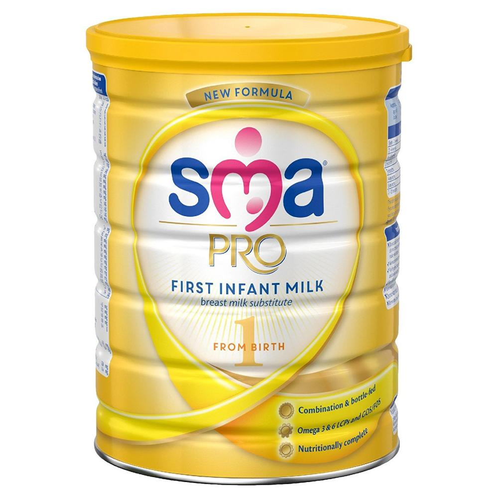 SMA First Infant Milk from Birth 800 g