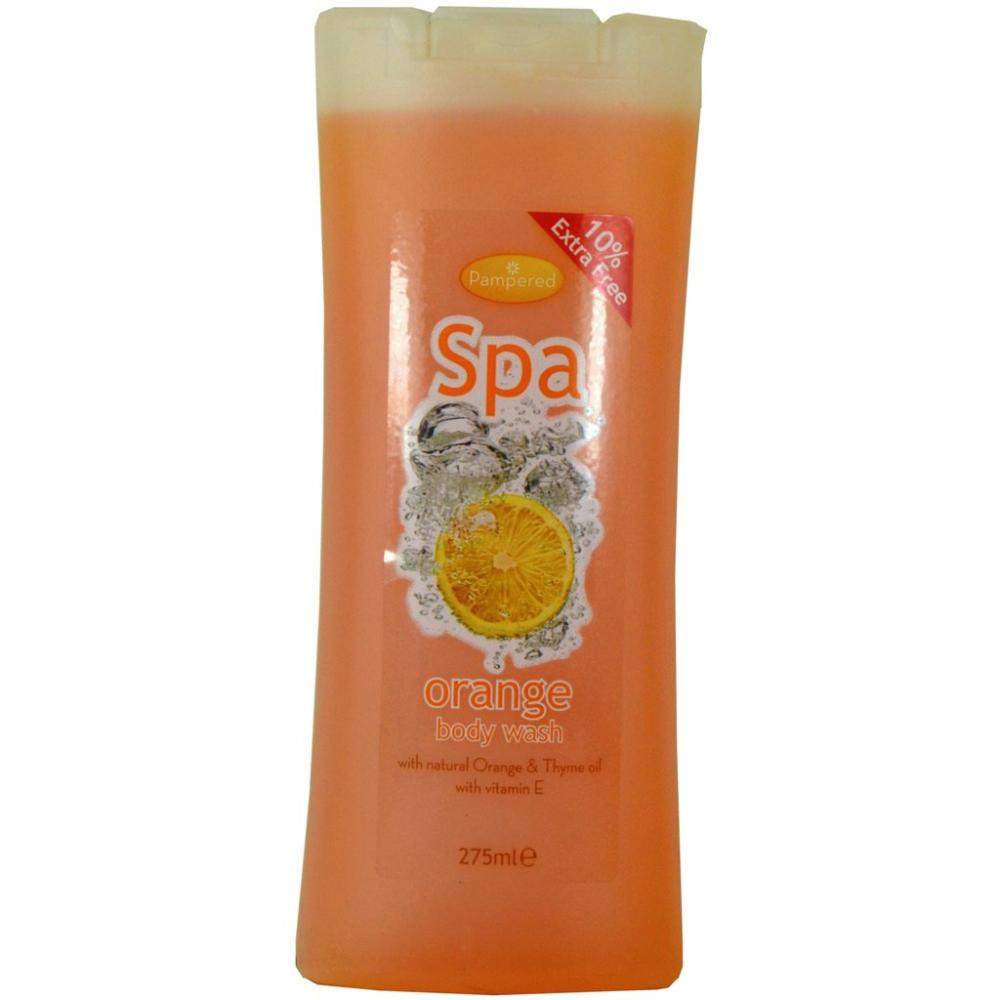 Pampered Spa Orange Body Wash 275ml