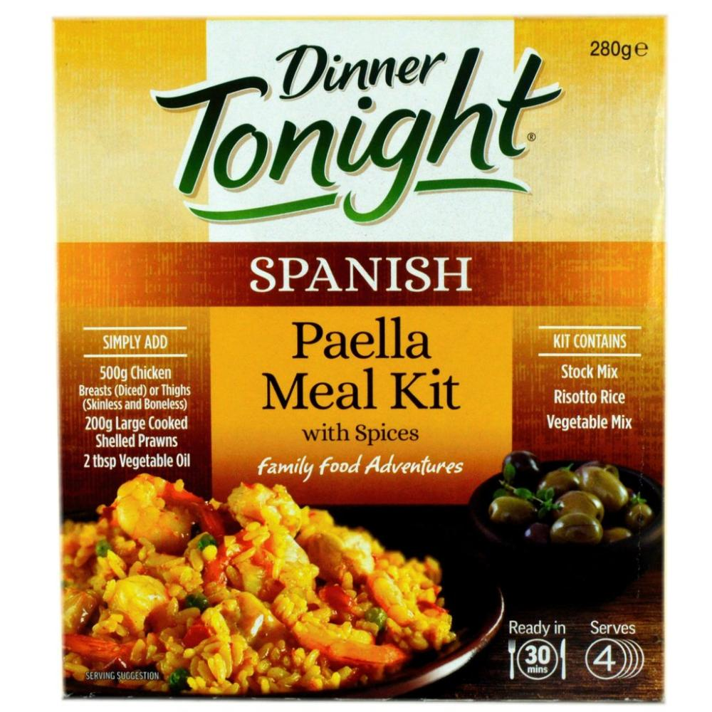 Dinner Tonight Spanish Paella Meal Kit 280g