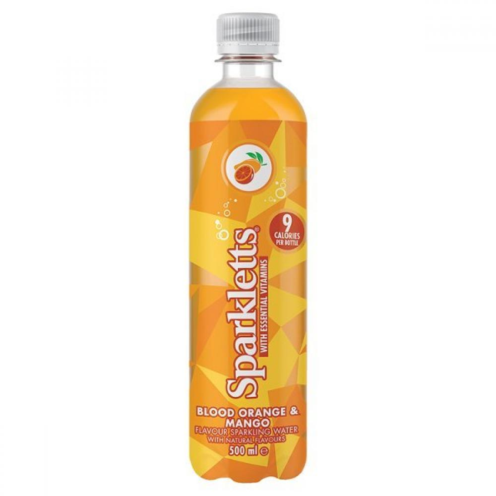 Sparkletts Blood Orange and Mango 500ml 500ml