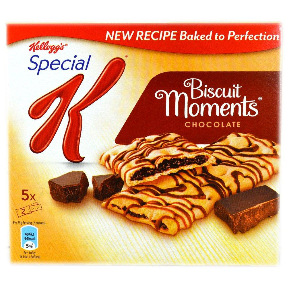 Kelloggs Special K Biscuit Moments Chocolate 5 x 25g