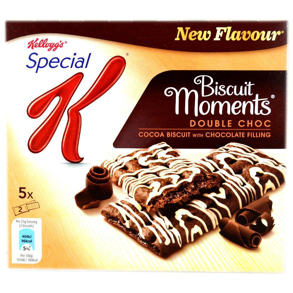 Kelloggs Special K Biscuit Moments Double Choc 5 x 25g