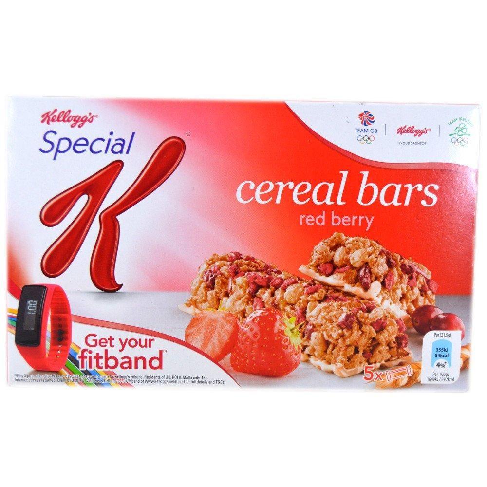 Kelloggs Special K Cereal Bars Red Berry 5 x 215g