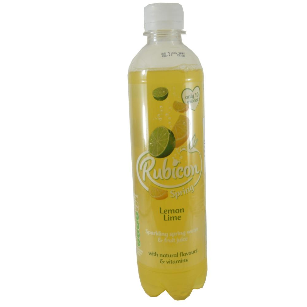 Rubicon Spring Lemon And Lime 500ml