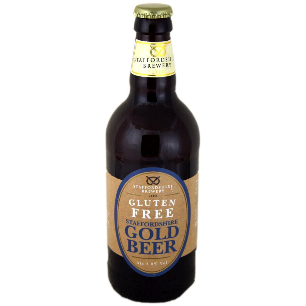 Staffordshire Brewery Gold Beer 500ml