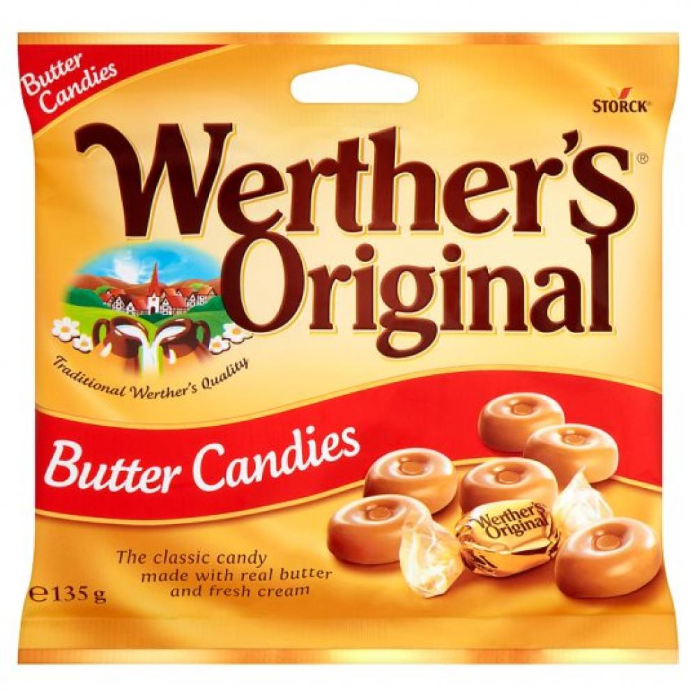 Storck Werthers Original Butter Candies 135g