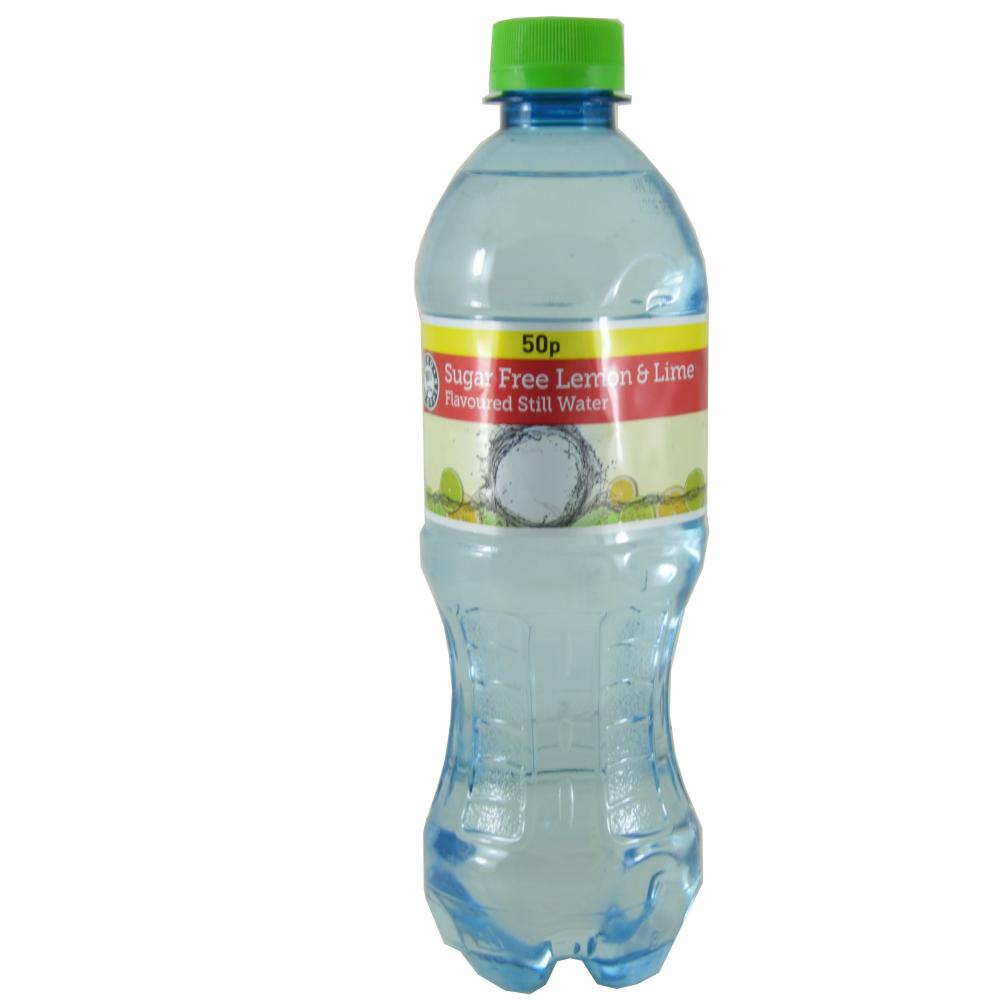Euro Shopper Sugar Free Lemon And Lime Flavoured Still Water 500ml