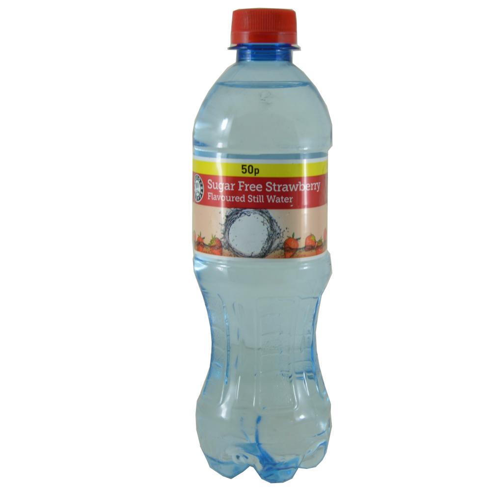 Euro Shopper Sugar Free Strawberry Flavoured Still Water 500ml