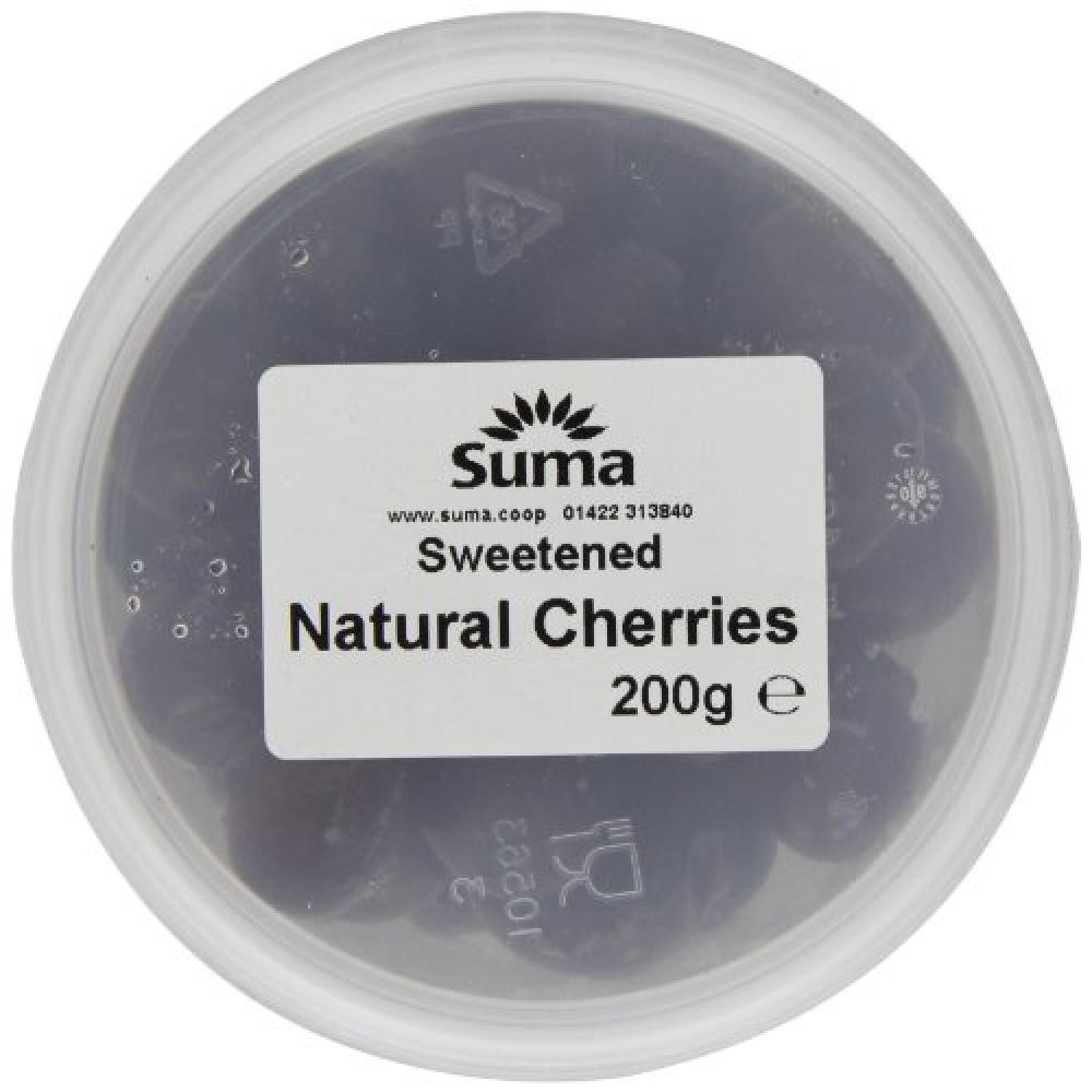 Suma Sweetened Natural Cherries 200g