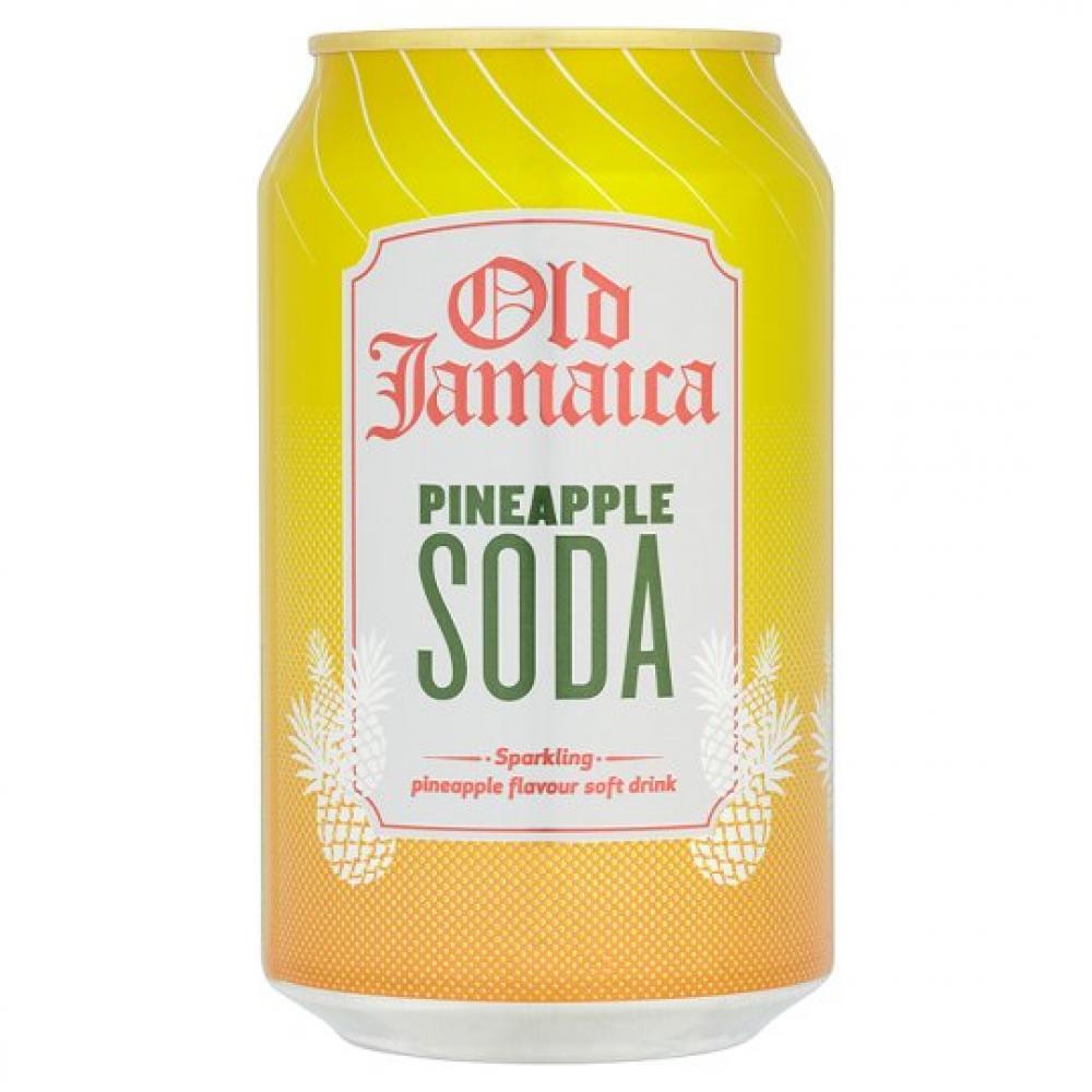 Old Jamaica Pineapple Soda 330ml