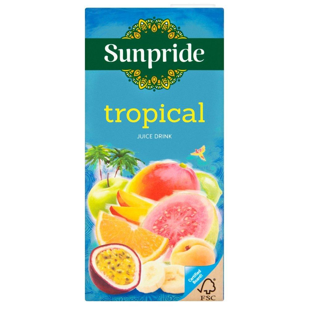 Sunpride Tropical Juice Drink 1l