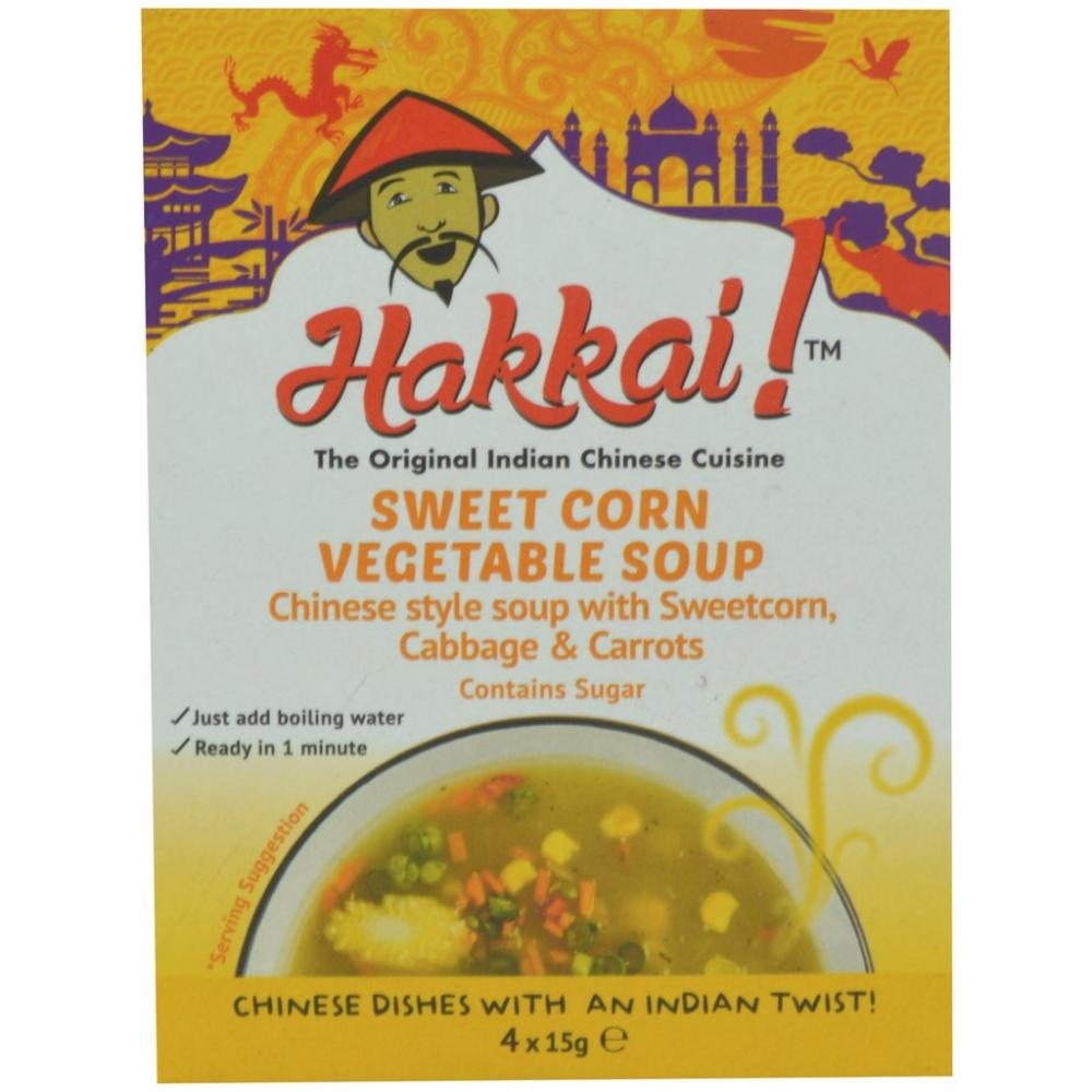 Hakkai Sweet Corn Vegetable Soup 60g