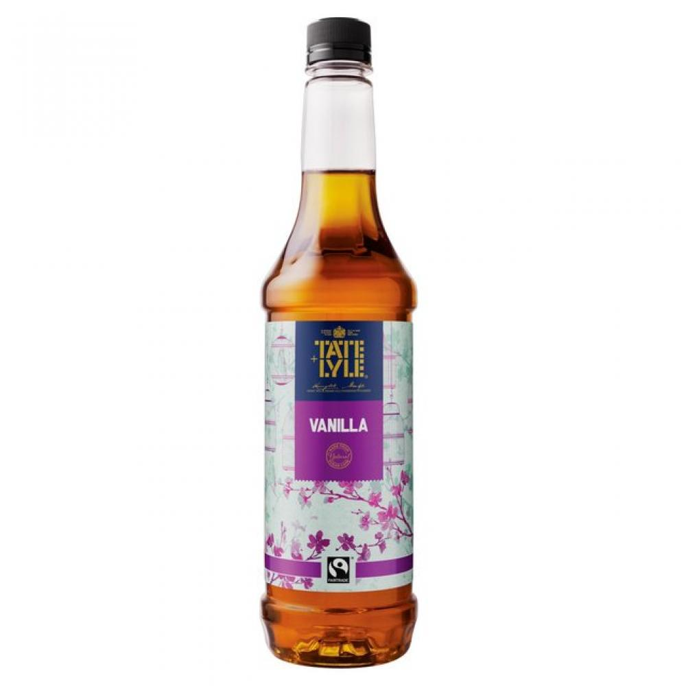 Tate and Lyle Vanilla Syrup 750ml