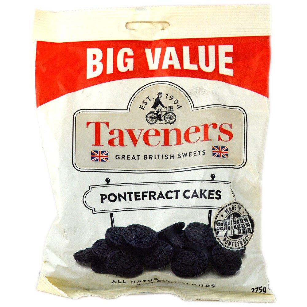 Taveners Pontefract Cakes 275g