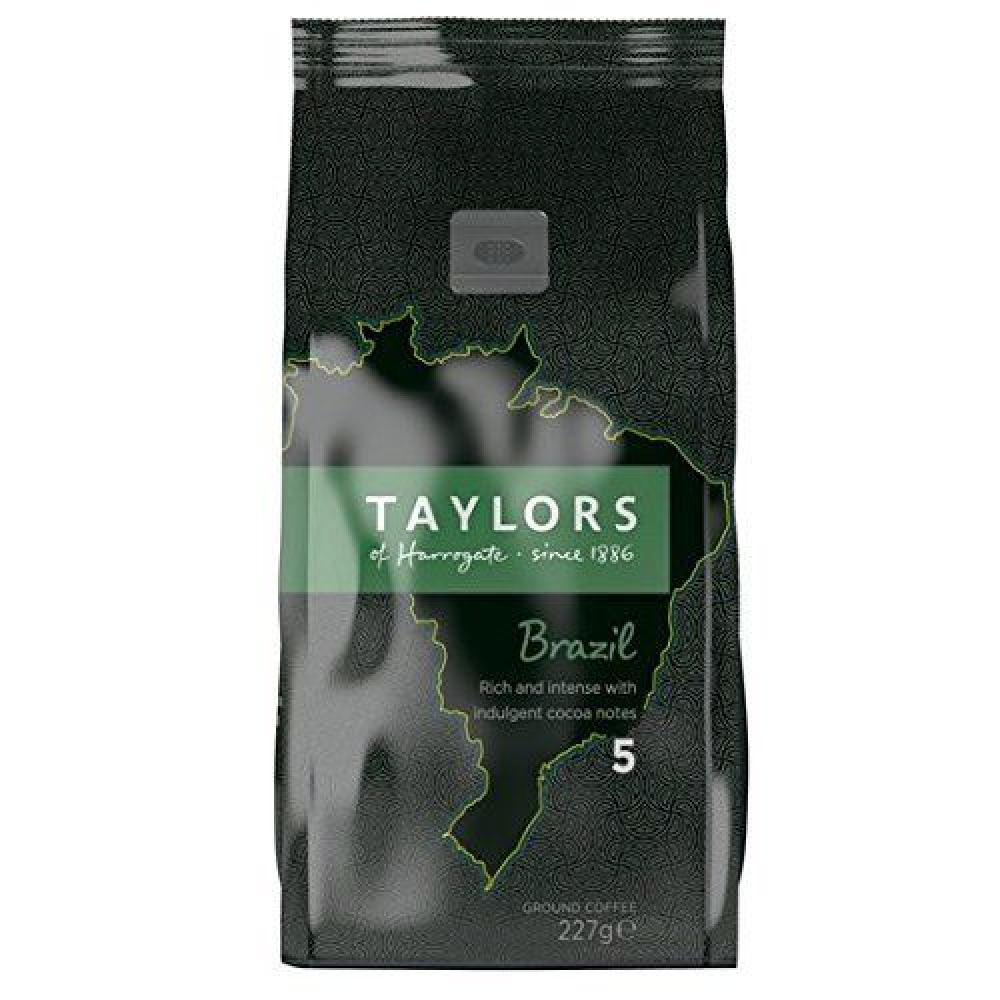Taylors Of Harrogate Brazil Ground Coffee 227g