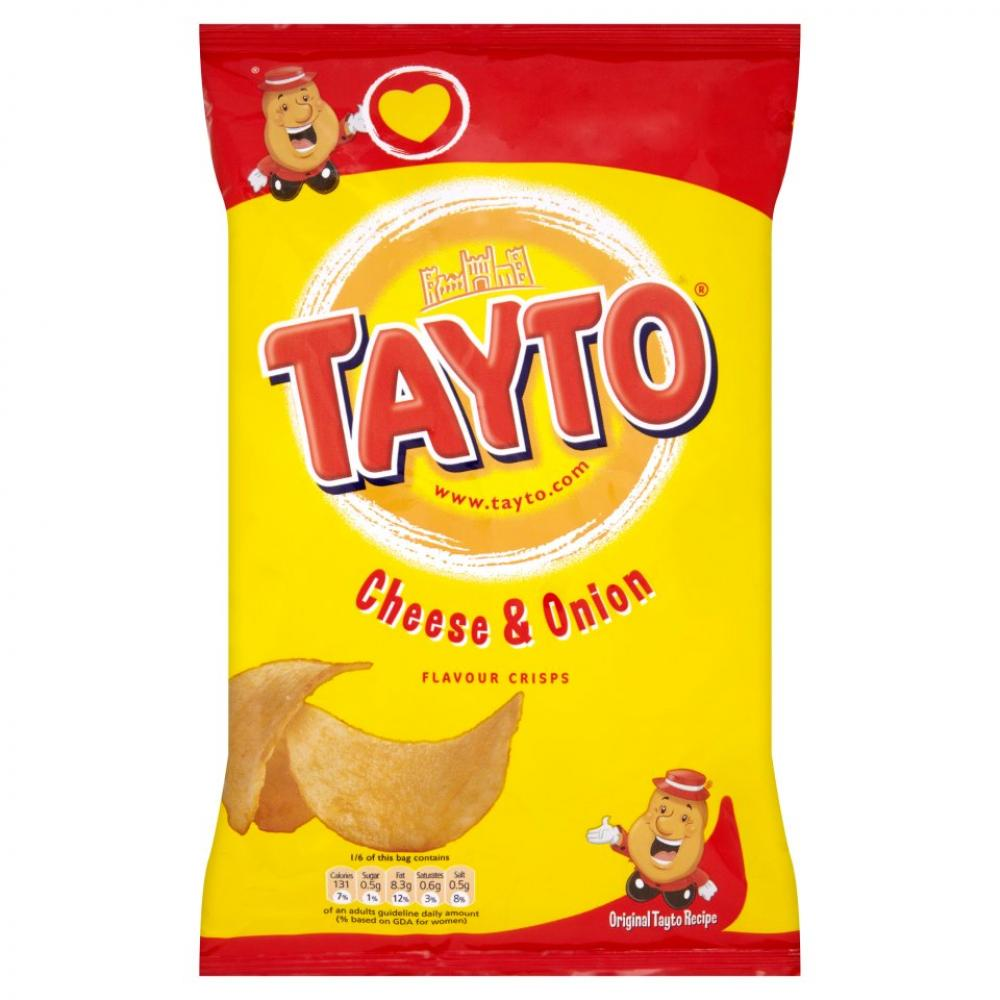 Tayto Cheese and Onion Flavour Crisps 150g