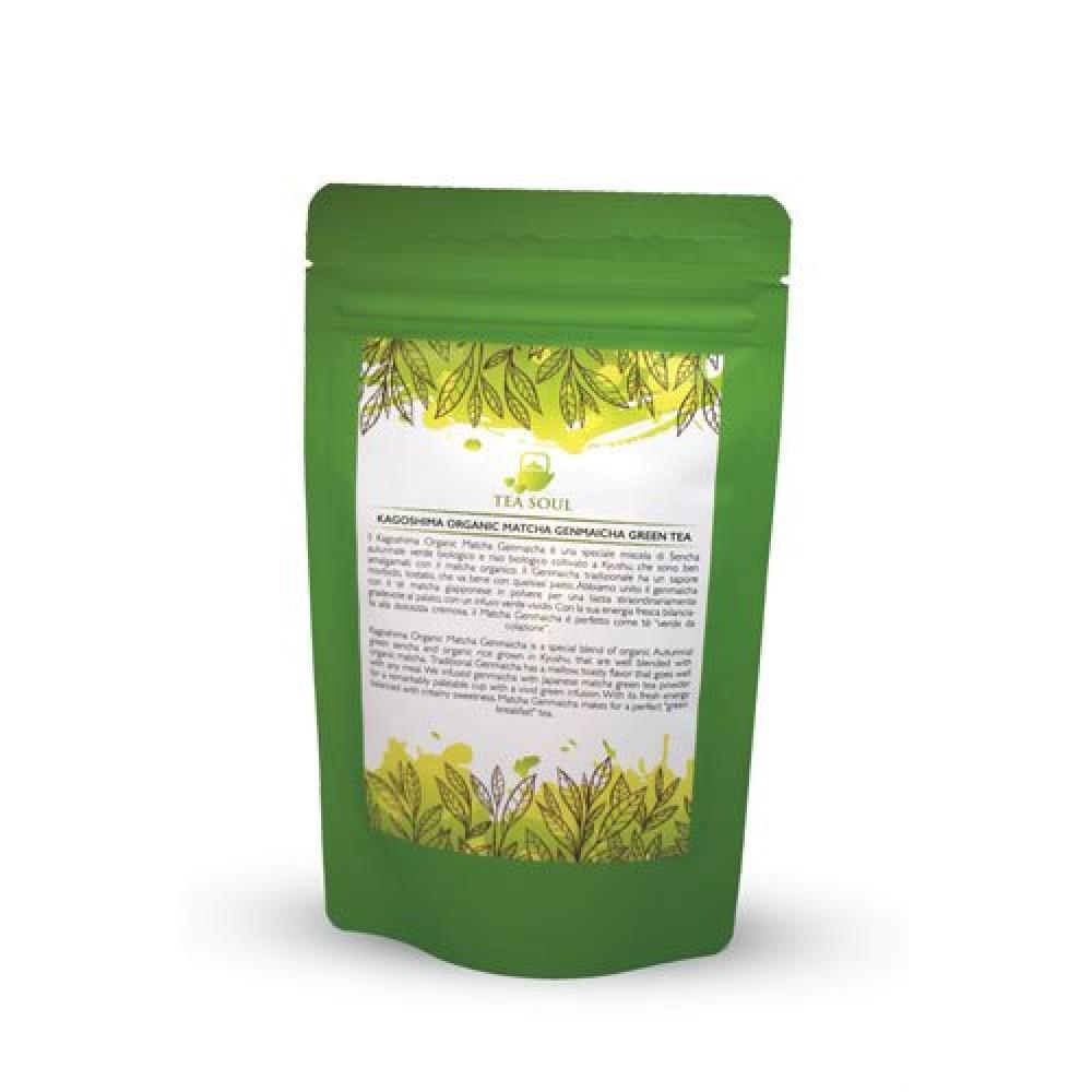 Tea Soul Kagoshima Organic Matcha Genmaicha Green Tea 250g