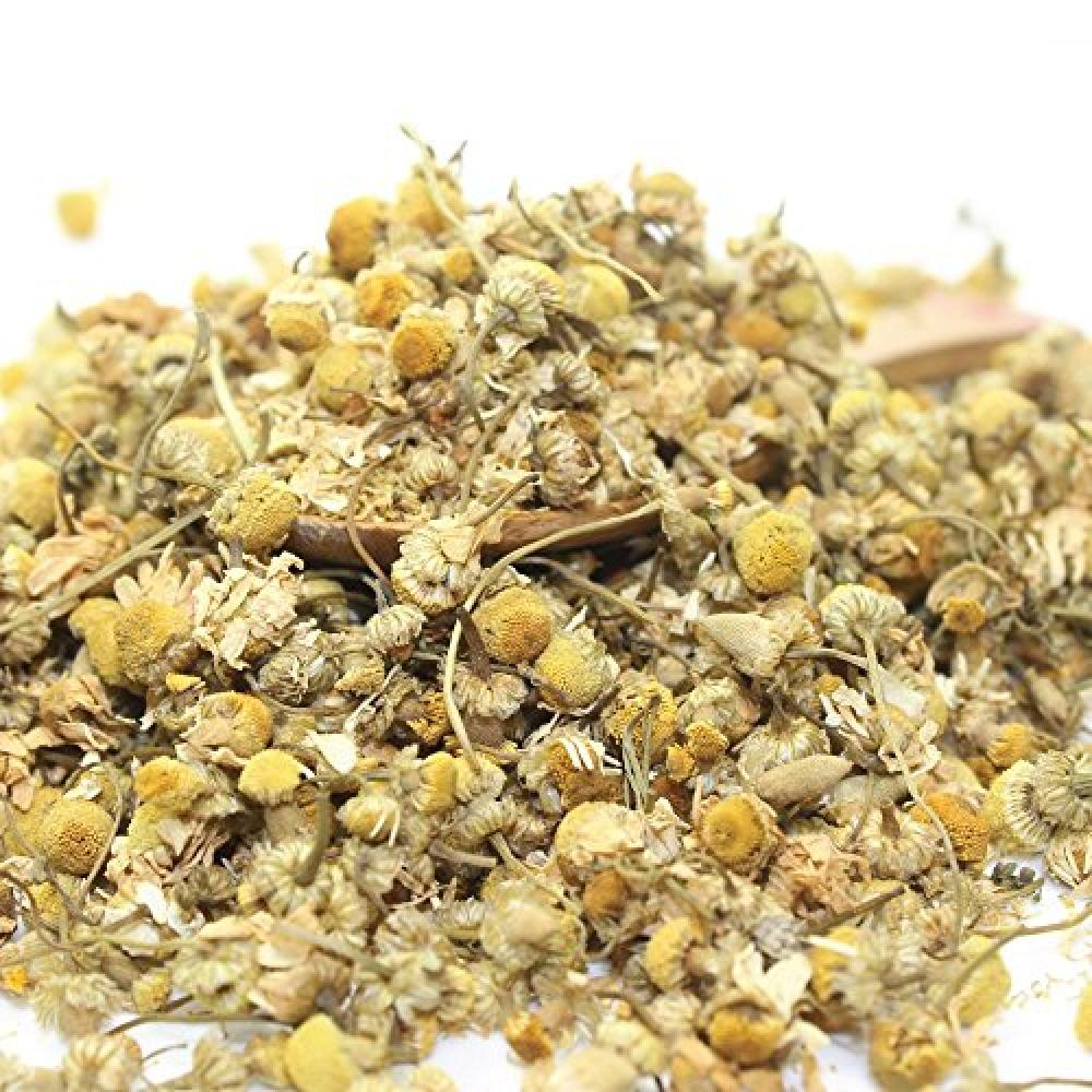 Tealyra Organic Chamomile Egyptian Herbal Loose Leaf Tea - Caffeine Free - Relax Tea (7oz 200g)