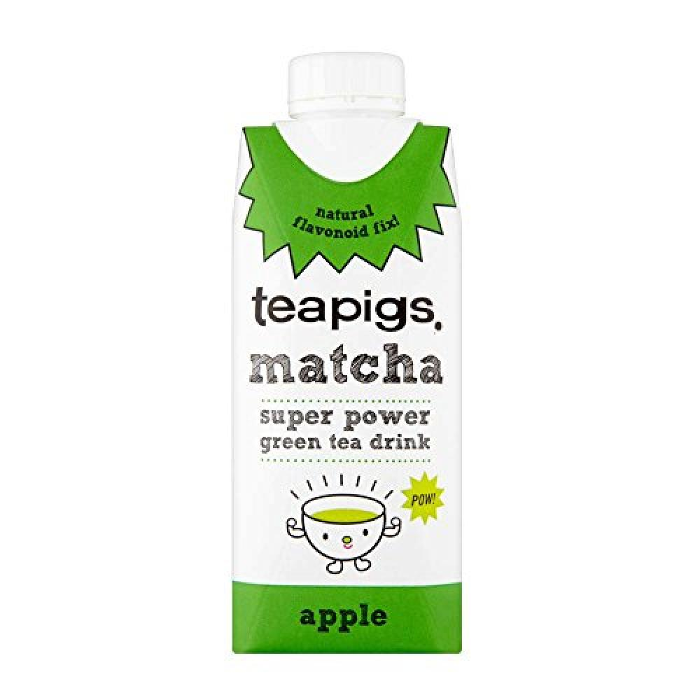 Teapigs Apple Matcha Green Tea Drink 330 ml