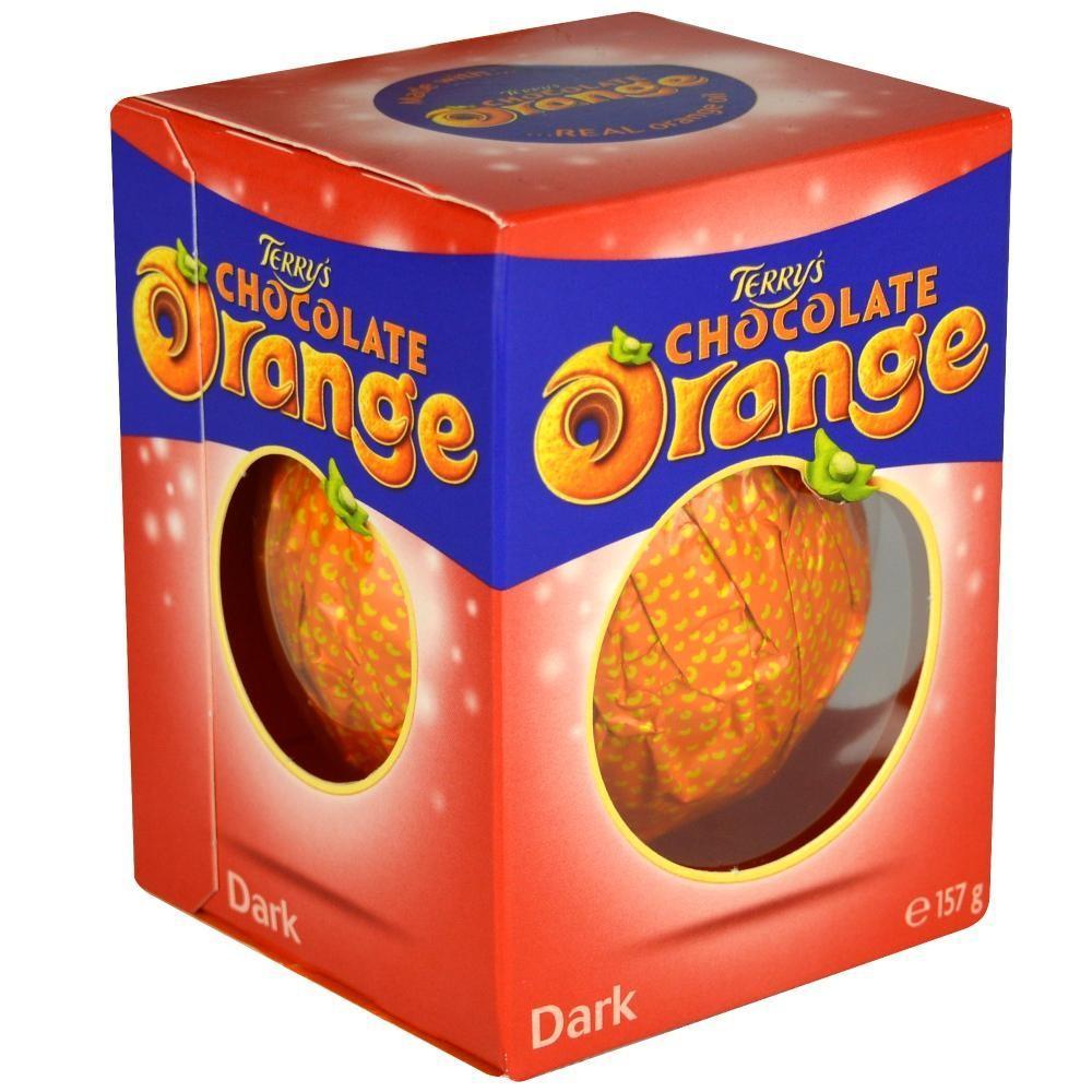 Terrys Dark Chocolate Orange 157g