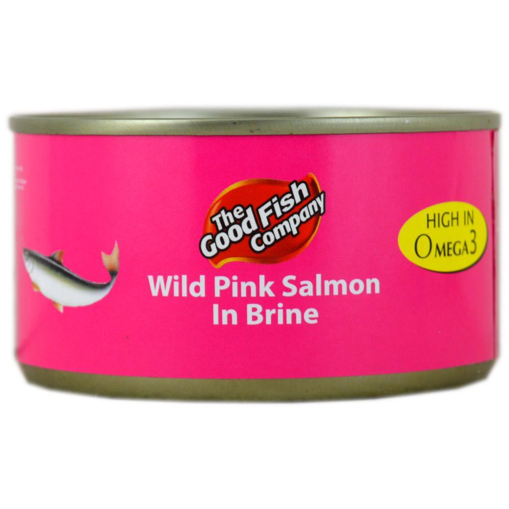 The Good Food Company Wild Pink Salmon in Brine 205g