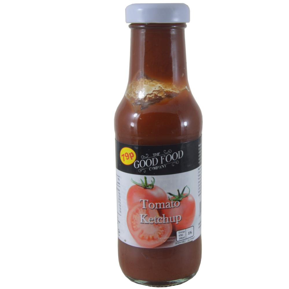 FURTHER REDUCTION  The Good Food Tomato Ketchup 345g