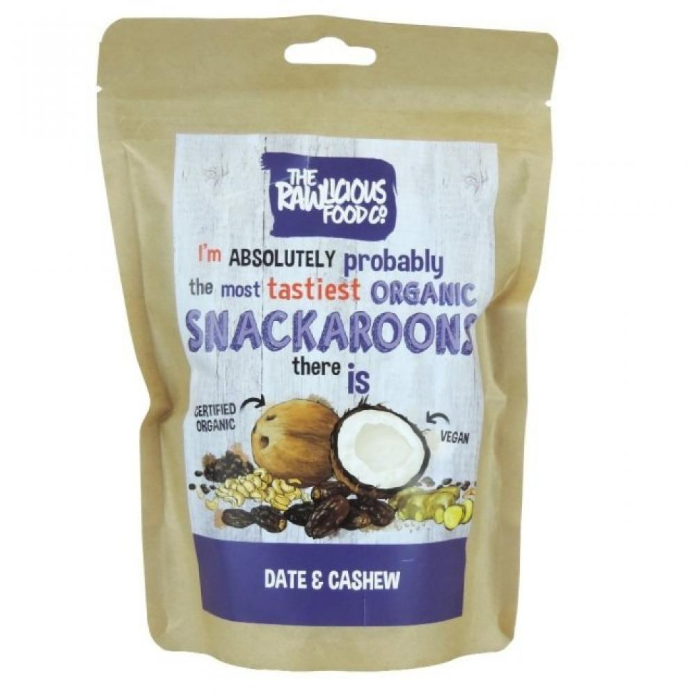 The Raw Food Co Date and Cashew Snackaroons 60g