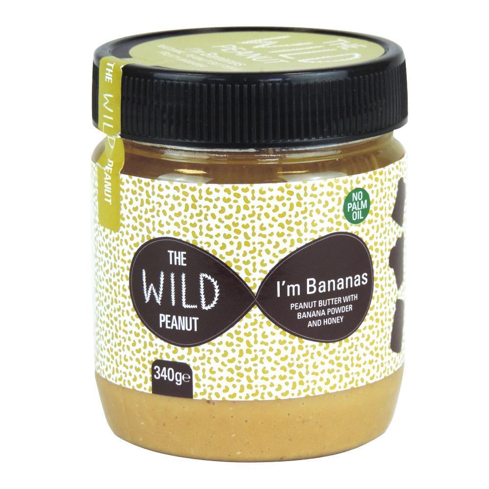 The Wild Peanut Im Bananas Peanut Butter 340g