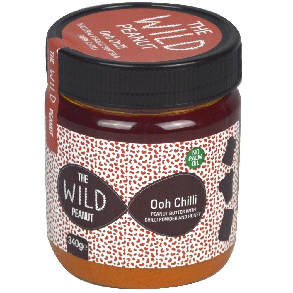 The Wild Peanut Ooh Chiili Peanut Butter 340g