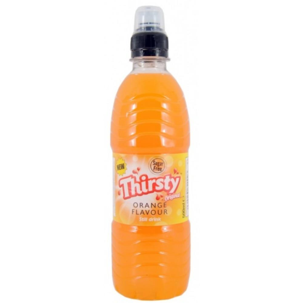 Thirsty Original Orange Flavour Drink 500ml
