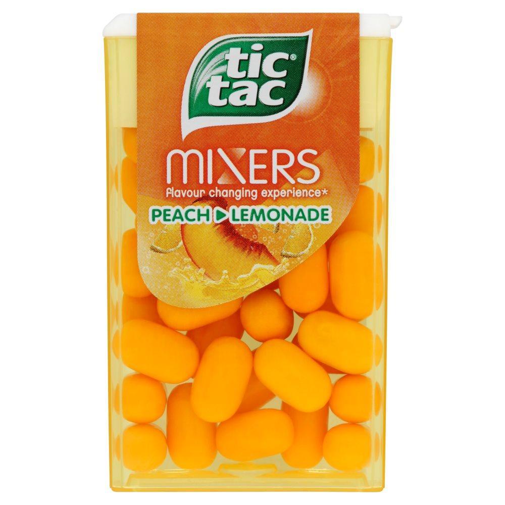 Tic Tac Mixers Peach and Lemonade 18g