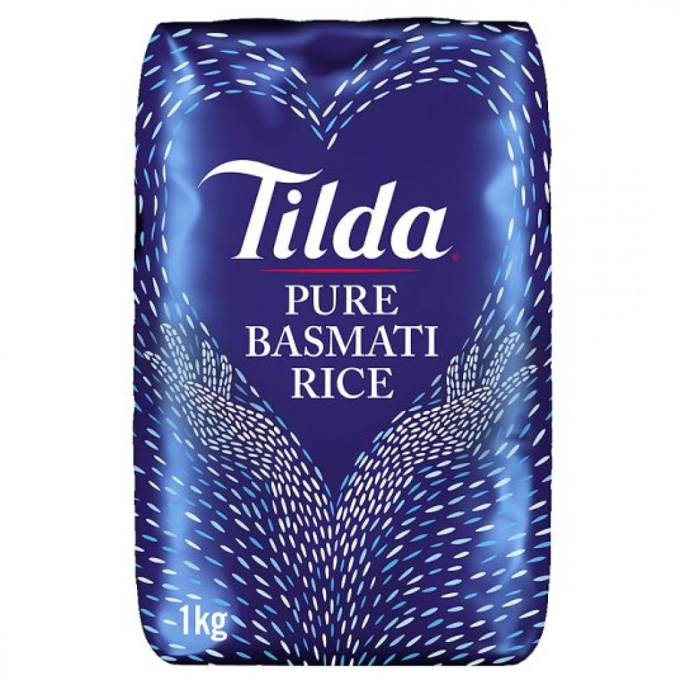 Tilda Pure Basmati Rice 1kg